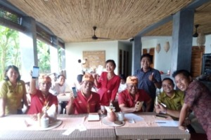 DAJUMA WELCOMES WAITERIO Puri Dajuma, Beach Eco-Resort & Spa, West Bali bengeda restaurant rama restaurant restaurant shinta restaurant waiterio Dajuma Restaurant