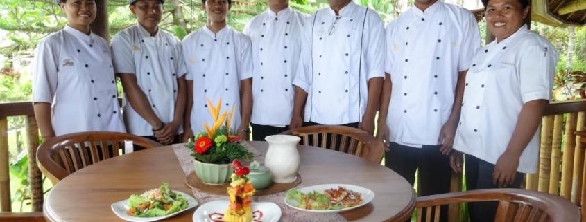 DELICIOUS BALINESE FOOD Puri Dajuma, Beach Eco-Resort & Spa, West Bali