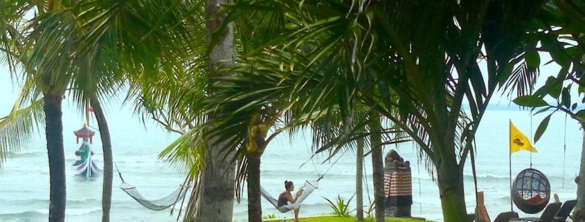 PERFECT RELAX IN DAJUMA GARDEN Puri Dajuma, Beach Eco-Resort & Spa, West Bali Beach Dajuma Tropical garden