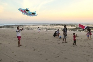 BEAUTIFUL KITES Puri Dajuma, Beach Eco-Resort & Spa, West Bali Beach Culture Dajuma People West Bali