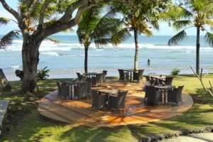 NEW TERRACE Puri Dajuma, Beach Eco-Resort & Spa, West Bali terace