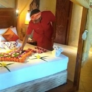 SPECIAL WELCOME DECORATION FOR HONEYMOONERS Puri Dajuma, Beach Eco-Resort & Spa, West Bali Bali Dajuma