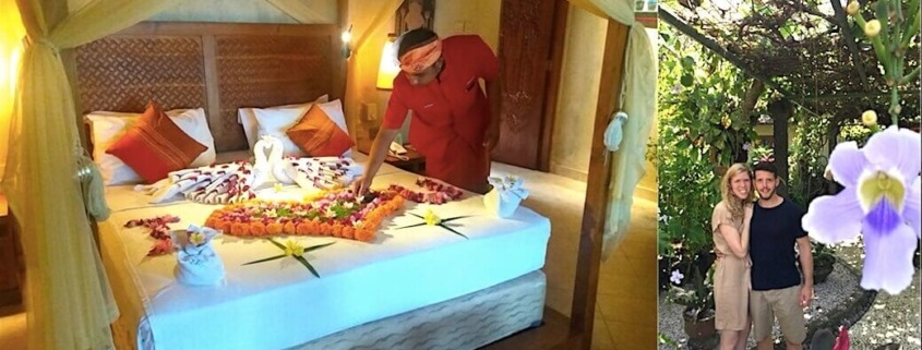 SPECIAL WELCOME DECORATION FOR HONEYMOONERS Puri Dajuma, Beach Eco-Resort & Spa, West Bali Bali Dajuma