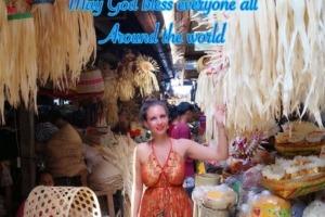HAPPY GALUNGAN & KUNINGAN! Puri Dajuma, Beach Eco-Resort & Spa, West Bali culture decoration