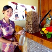 REFILL STATIONS Puri Dajuma, Beach Eco-Resort & Spa, West Bali