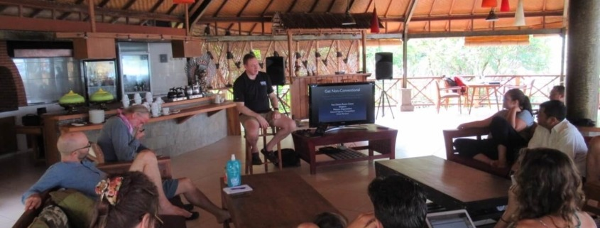 BOOKGREENER GATHERING Puri Dajuma, Beach Eco-Resort & Spa, West Bali