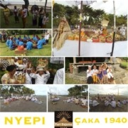 NYEPI & MELASTI at DAJUMA Puri Dajuma, Beach Eco-Resort & Spa, West Bali Bali Culture Dajuma