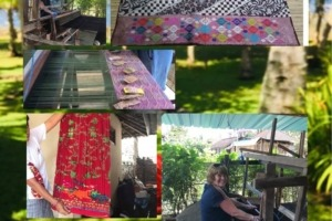 Wonderful Fabric from Bumi Mekepung Puri Dajuma, Beach Eco-Resort & Spa, West Bali