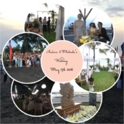 CONGRATULATIONS TO MELINDA & ANDREW Puri Dajuma, Beach Eco-Resort & Spa, West Bali wedding