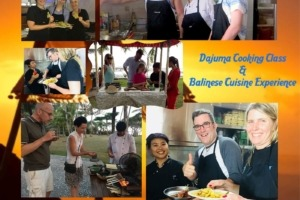 DAJUMA COOKING CLASS Puri Dajuma, Beach Eco-Resort & Spa, West Bali restaurant food west bali