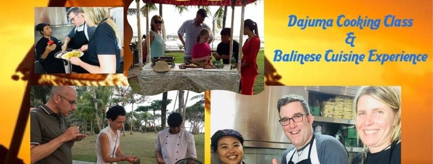 DAJUMA COOKING CLASS Puri Dajuma, Beach Eco-Resort & Spa, West Bali restaurant food west bali