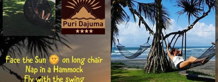 RELAX IN PARADISE Puri Dajuma, Beach Eco-Resort & Spa, West Bali paradise