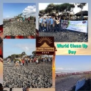 WORLD CLEAN UP DAY Puri Dajuma, Beach Eco-Resort & Spa, West Bali
