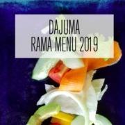 NEW MENUS 2019 Puri Dajuma, Beach Eco-Resort & Spa, West Bali