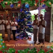 MERRY CHRISTMAS & HAPPY GALUNGAN Puri Dajuma, Beach Eco-Resort & Spa, West Bali