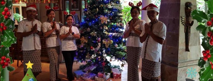 MERRY CHRISTMAS & HAPPY GALUNGAN Puri Dajuma, Beach Eco-Resort & Spa, West Bali