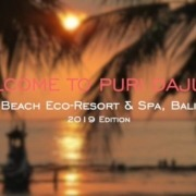 NEW DAJUMA VIDEO 2019 Puri Dajuma, Beach Eco-Resort & Spa, West Bali Dajuma video introduction presentation