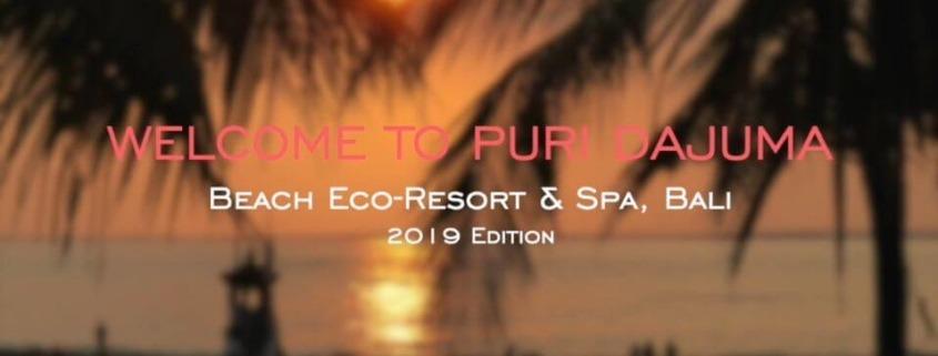 NEW DAJUMA VIDEO 2019 Puri Dajuma, Beach Eco-Resort & Spa, West Bali Dajuma video introduction presentation