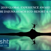 "DAJUMA REWARDED BY ""2018 GLOBAL EXPERIENCE AWARD 2018"" Puri Dajuma, Beach Eco-Resort & Spa, West Bali"