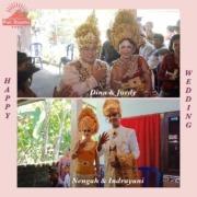 TWO HAPPY WEDDINGS AT DAJUMA Puri Dajuma, Beach Eco-Resort & Spa, West Bali