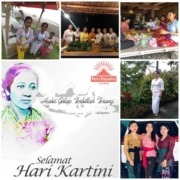 """Hari Kartini"" Indonesian National Day Puri Dajuma, Beach Eco-Resort & Spa, West Bali"