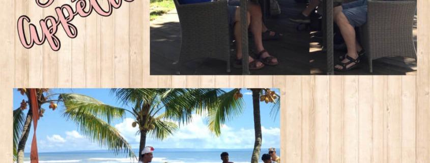 LUNCH ON THE BEACH Puri Dajuma, Beach Eco-Resort & Spa, West Bali beach restaurant