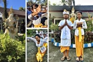 CELEBRATION OF SARASWATI AT DAJUMA ON MAY 11th Puri Dajuma, Beach Eco-Resort & Spa, West Bali