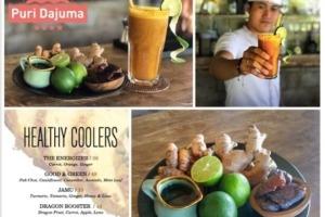 HEALTHY COOLER JAMU Puri Dajuma, Beach Eco-Resort & Spa, West Bali