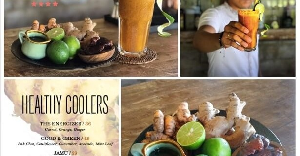 HEALTHY COOLER JAMU Puri Dajuma, Beach Eco-Resort & Spa, West Bali
