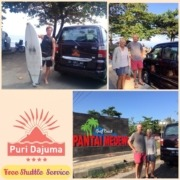 FREE SHUTTLE SERVICE TO MEDEWI Puri Dajuma, Beach Eco-Resort & Spa, West Bali surfing medewi