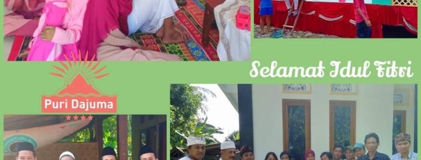 SELAMAT IDUL FITRI! EID MUBARAK! Puri Dajuma, Beach Eco-Resort & Spa, West Bali