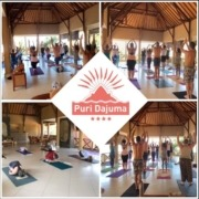 21 June: Yoga day Puri Dajuma, Beach Eco-Resort & Spa, West Bali