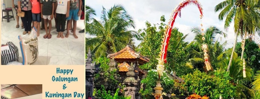 HAPPY GALUNGAN & KUNINGAN Puri Dajuma, Beach Eco-Resort & Spa, West Bali