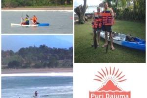 SEA ACTIVITIES AT DAJUMA Puri Dajuma, Beach Eco-Resort & Spa, West Bali
