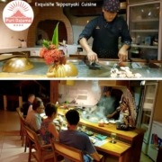 DID YOU TRY OUR TEPPANYAKI? Puri Dajuma, Beach Eco-Resort & Spa, West Bali Restaurant West Bali