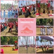How the villagers of Pekutatan celebrate Independence Day Puri Dajuma, Beach Eco-Resort & Spa, West Bali independence bali