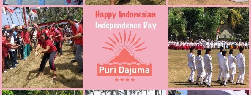 How the villagers of Pekutatan celebrate Independence Day Puri Dajuma, Beach Eco-Resort & Spa, West Bali independence bali