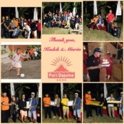 HAPPY RETIREMENT TO MISRIN AND KADEK! Puri Dajuma, Beach Eco-Resort & Spa, West Bali