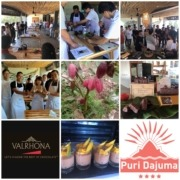 WELCOME AGAIN DEAR VALRHONA! Puri Dajuma, Beach Eco-Resort & Spa, West Bali west bali tours chocolate