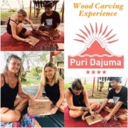 WOOD CARVING ART IN BALI Puri Dajuma, Beach Eco-Resort & Spa, West Bali balinese art