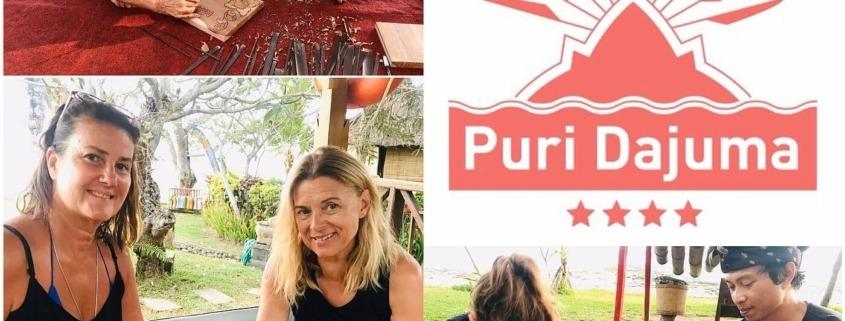 WOOD CARVING ART IN BALI Puri Dajuma, Beach Eco-Resort & Spa, West Bali balinese art