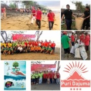 WORLD CLEANUP DAY AT DAJUMA Puri Dajuma, Beach Eco-Resort & Spa, West Bali