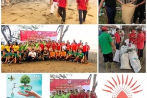 WORLD CLEANUP DAY AT DAJUMA Puri Dajuma, Beach Eco-Resort & Spa, West Bali