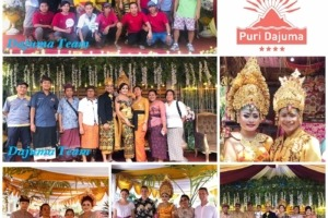 HAPPY EVENT IN DAJUMA Puri Dajuma, Beach Eco-Resort & Spa, West Bali Culture Dajuma Dancing - Music People Wedding