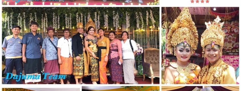 HAPPY EVENT IN DAJUMA Puri Dajuma, Beach Eco-Resort & Spa, West Bali Culture Dajuma Dancing - Music People Wedding