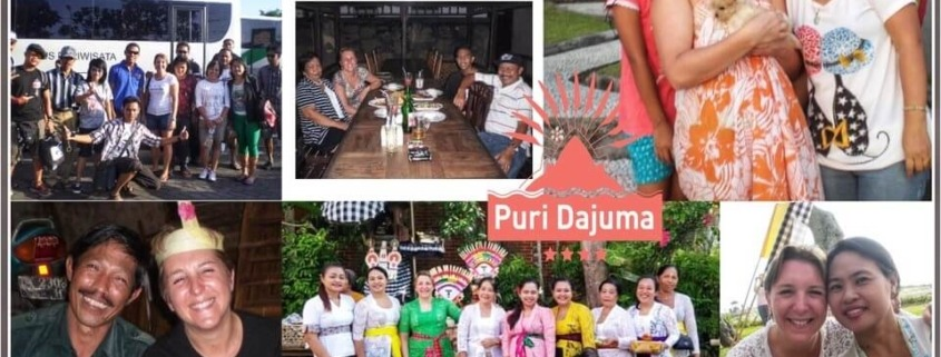 NATACHA: OUR REPEATER GUEST CHAMPION Puri Dajuma, Beach Eco-Resort & Spa, West Bali