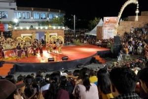 ANNUAL JEGOG FESTIVAL AT RAMBUT SIWI Puri Dajuma, Beach Eco-Resort & Spa, West Bali balinese music jegog