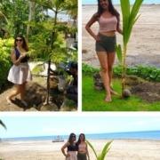PLANTING TREES AT DAJUMA Puri Dajuma, Beach Eco-Resort & Spa, West Bali tropical garden
