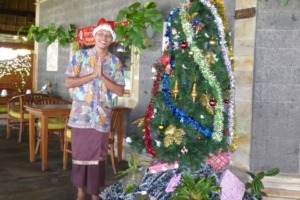Celebrating Christmas Puri Dajuma, Beach Eco-Resort & Spa, West Bali