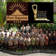 DAJUMA REWARDED BY THE « WORLD LUXURY HOTELS ORGANISATION » Puri Dajuma, Beach Eco-Resort & Spa, West Bali